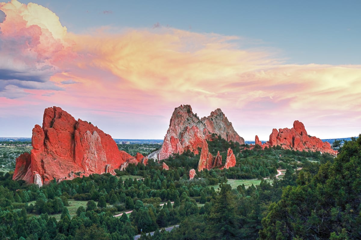 Garden Of The Gods by Rick Perkins