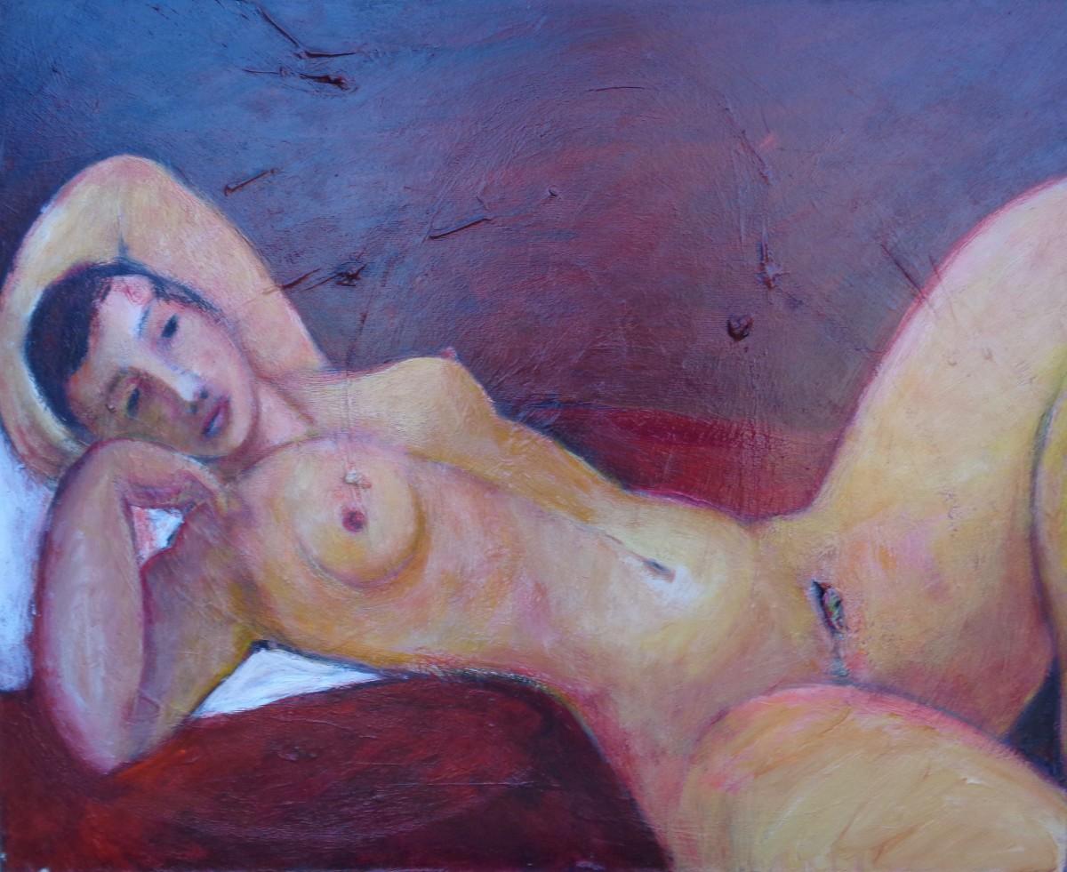 1091 Reclining Nude