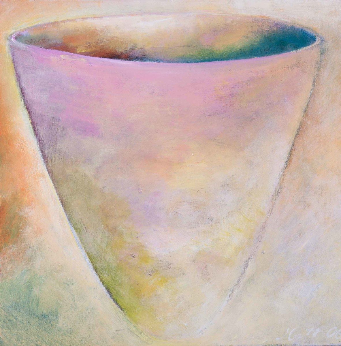 1054 Nothing Cup  by Judy Gittelsohn