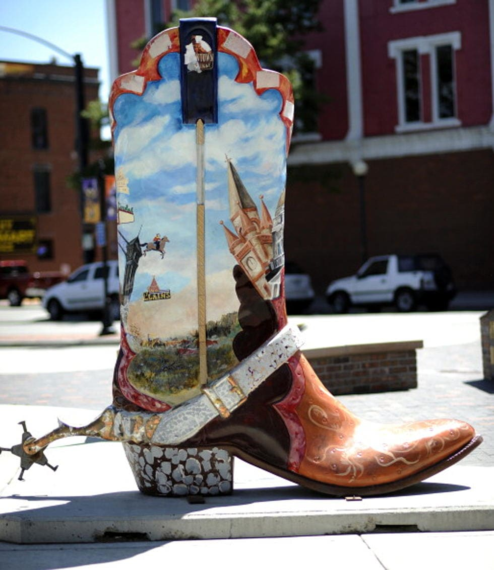 Downtown Cheyenne Boot