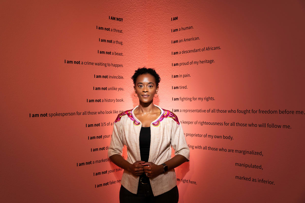I AM / I AM NOT by Ashley Hairston Doughty