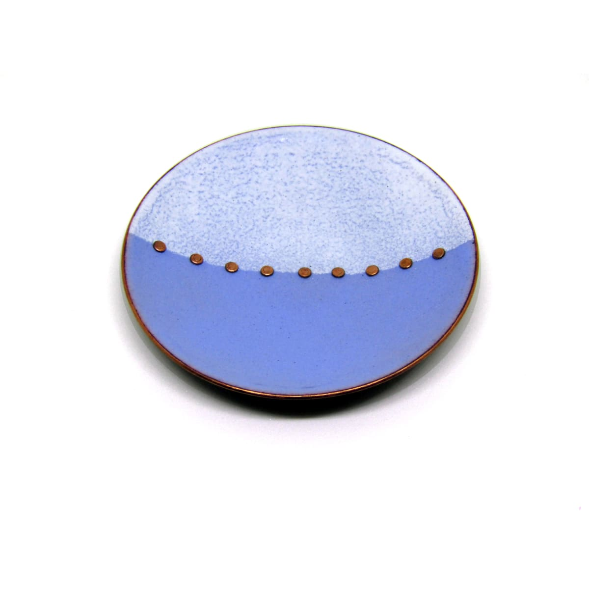 MCA133, Blue White Trinket Dish by Anne McArdle