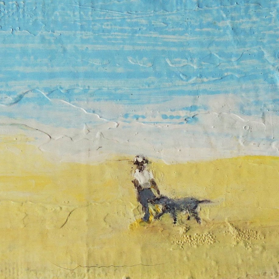 CHA188,  A Good Walk by Paul Chave - Painting