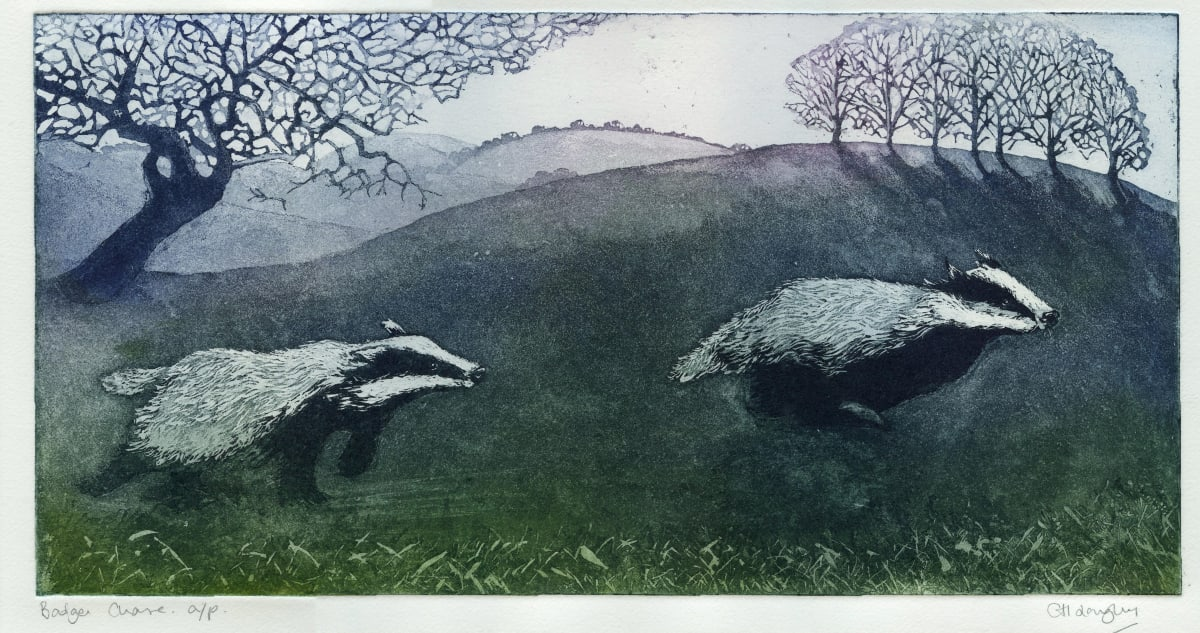 LON178, Badger Chase a/p by Claire Longley