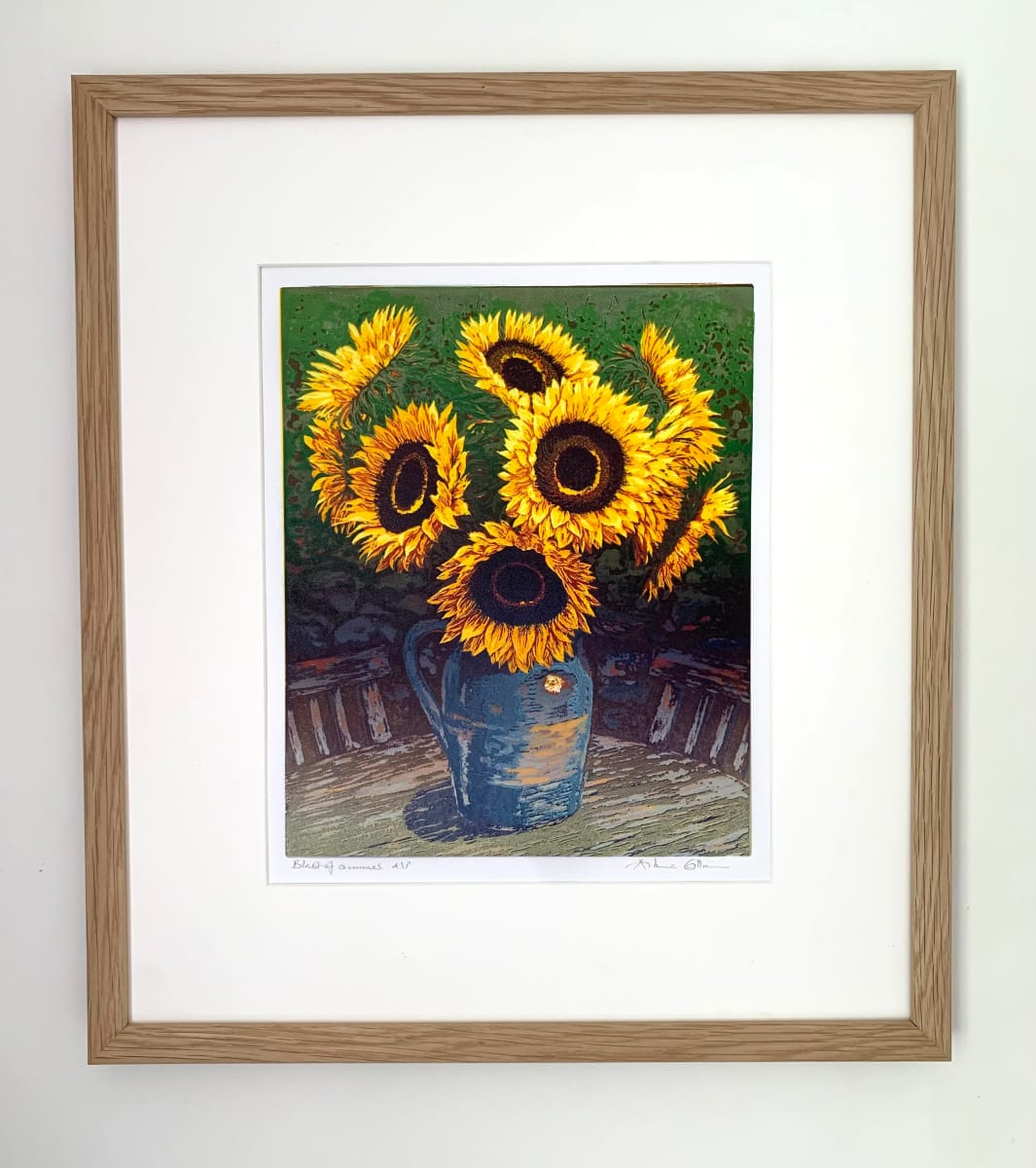 ENT135,  Blast of summer, framed by Antonia Enthoven