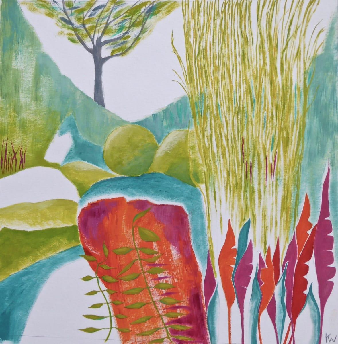 WHI021, Garden Glimpse 7