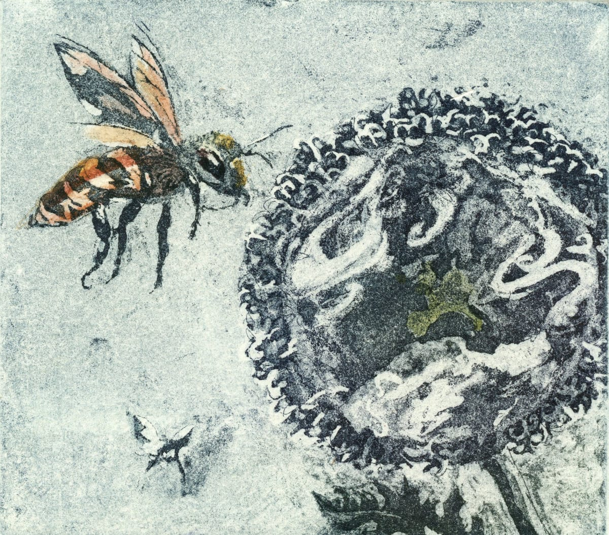 LON160, The Bee, World Pollinator by Claire Longley