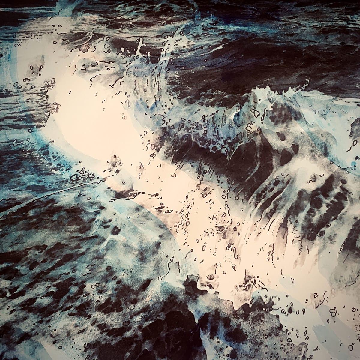 MCD126, Turbulent Sea by Ruth McDonald