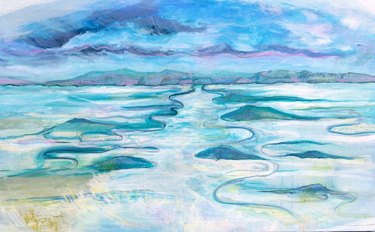 MCD160, Estuary Haze by Ruth McDonald