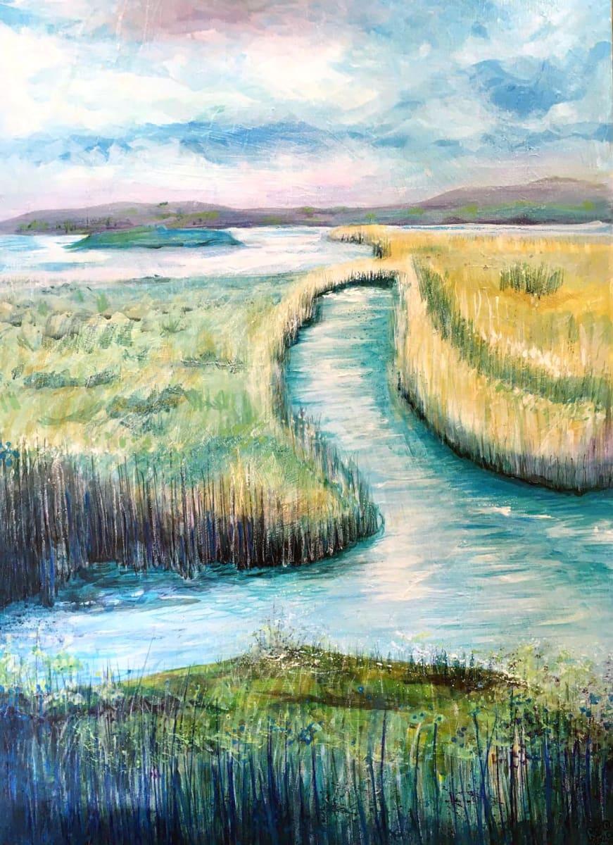 MCD164, Faversham Marshes by Ruth McDonald