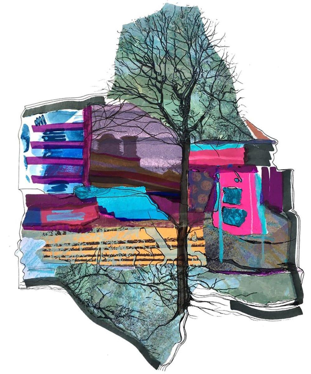 MCD168, Luminous Tree by Ruth McDonald