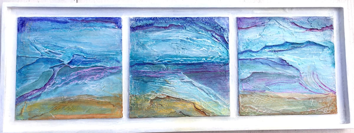 MCD174, Coastal Panel by Ruth McDonald