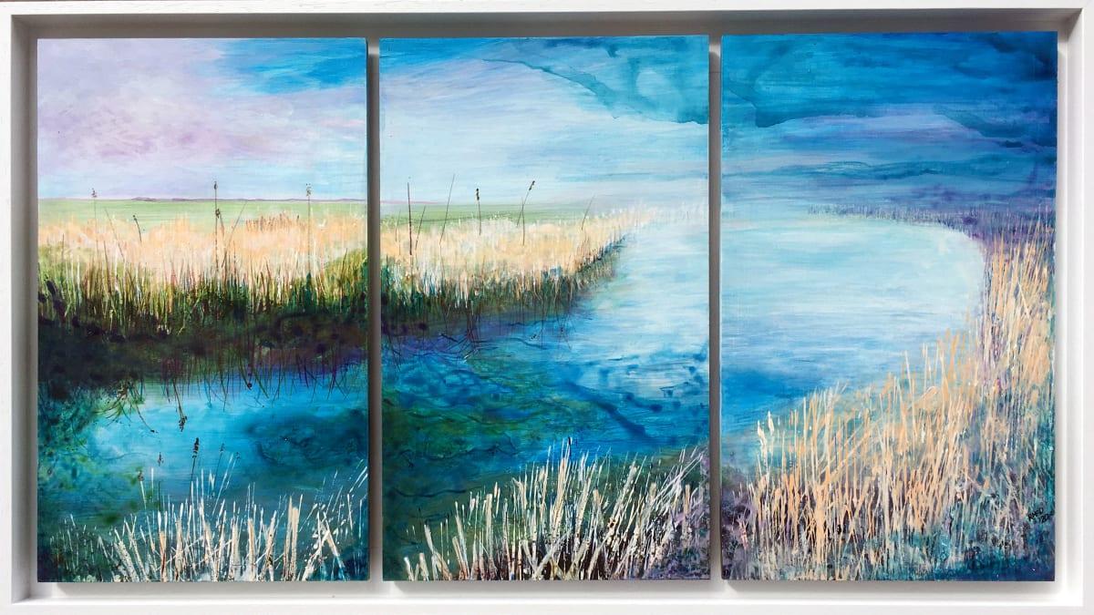 MCD177, Evening Marshes by Ruth McDonald