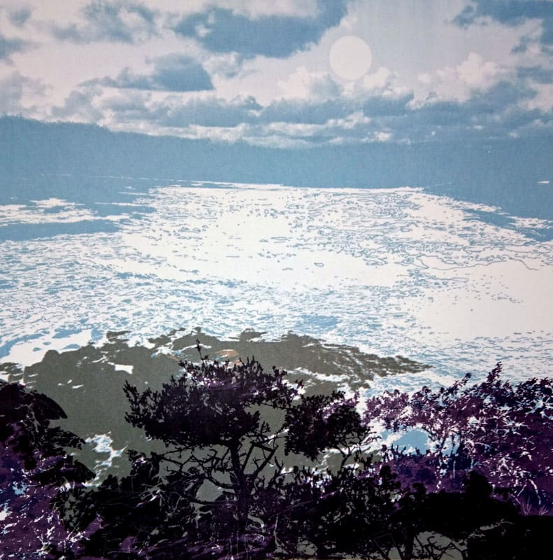 MCD151, Shoreline 1 by Ruth McDonald