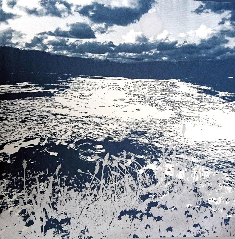 MCD154, Moonlit Shore by Ruth McDonald