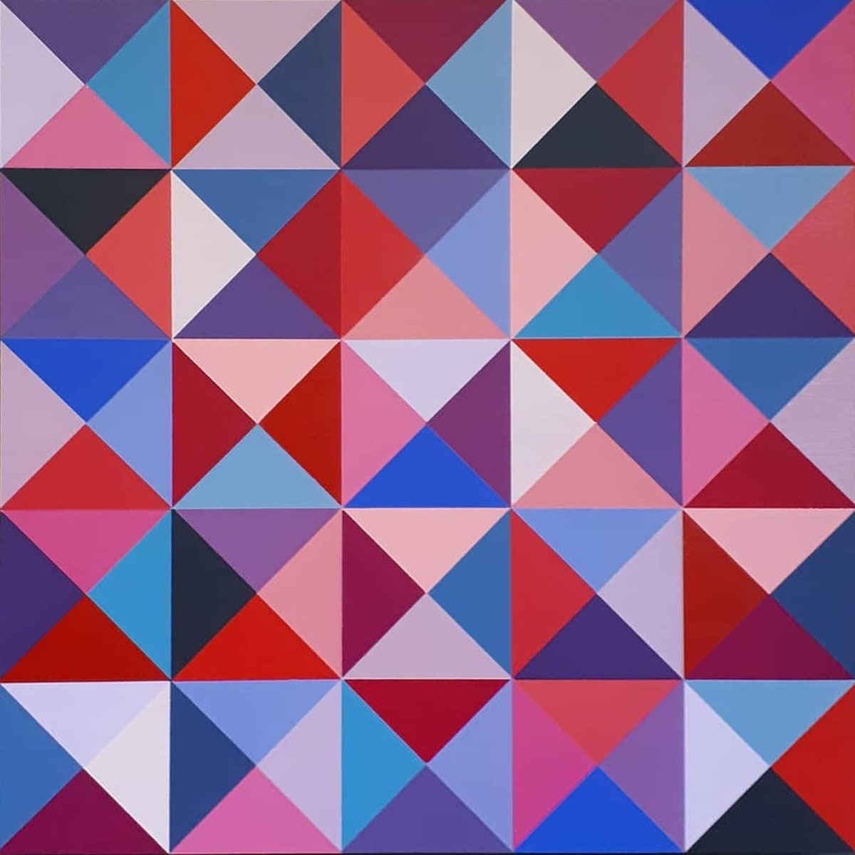 HIG100, Red and Blue Makes Purple by Christine Highland