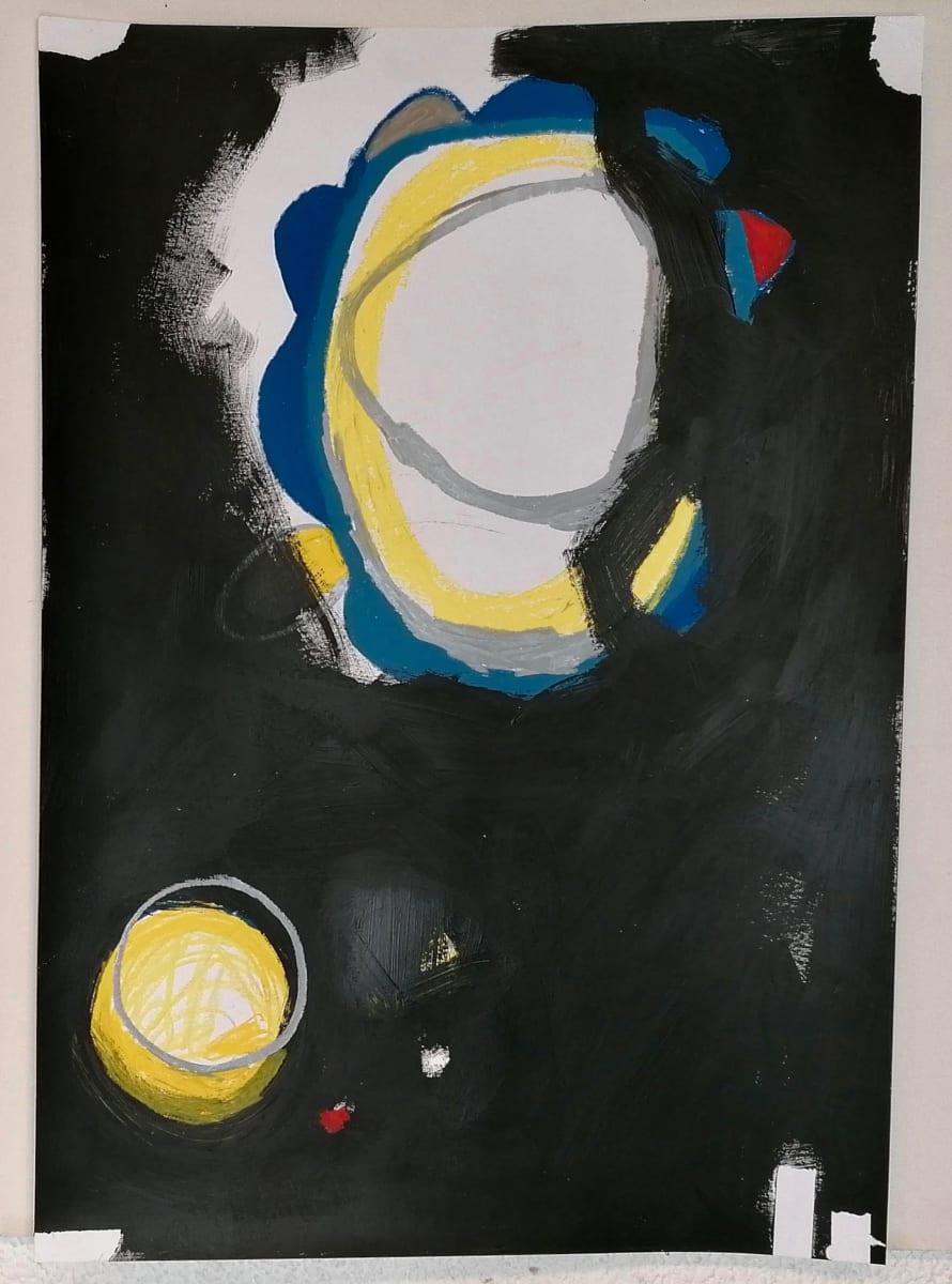 (Paint it black 1) by Alejandra Jean-Mairet