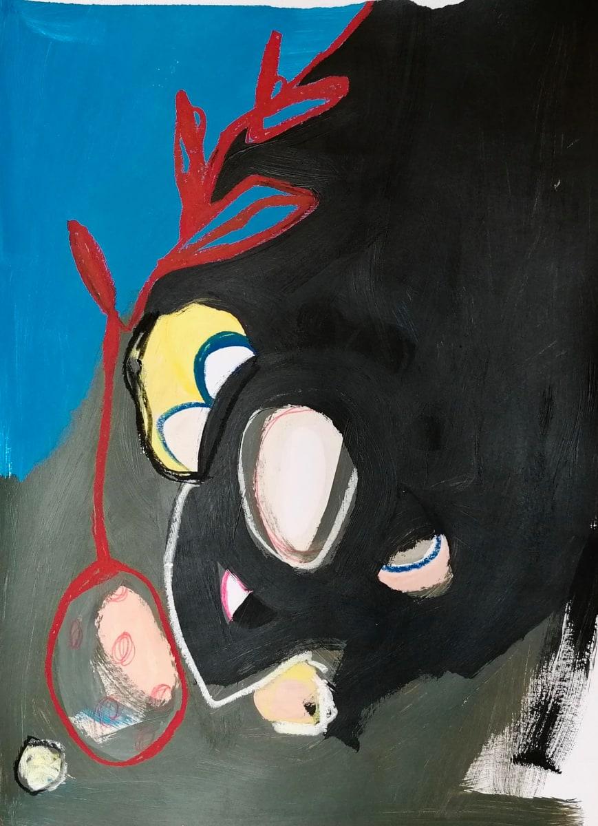 (Paint it black 2) by Alejandra Jean-Mairet
