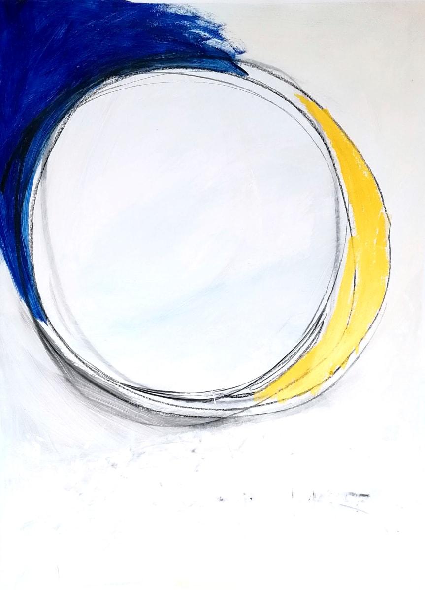 circulo, azul, amarillo by Alejandra Jean-Mairet