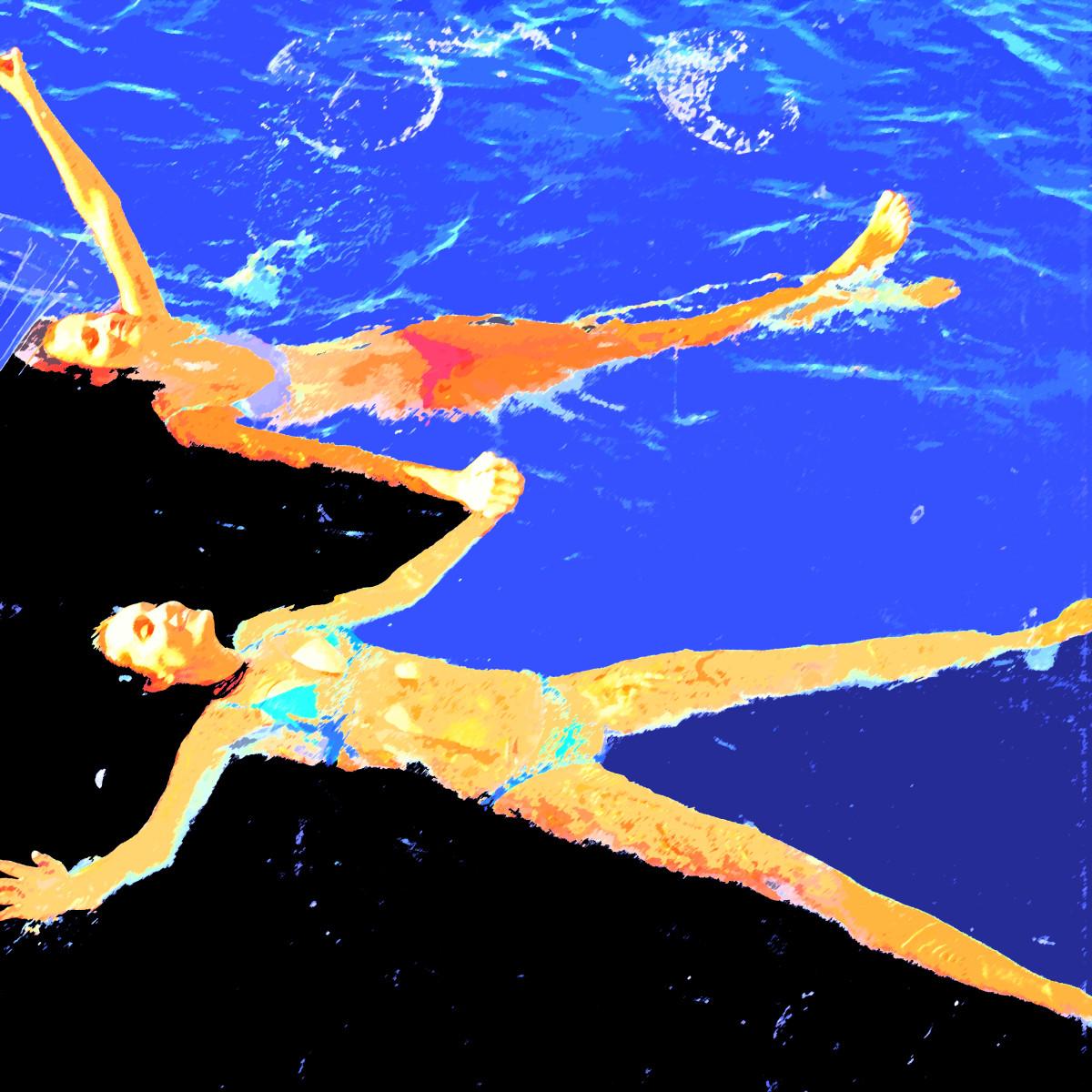 Floating Adrift  by Gina Godfrey