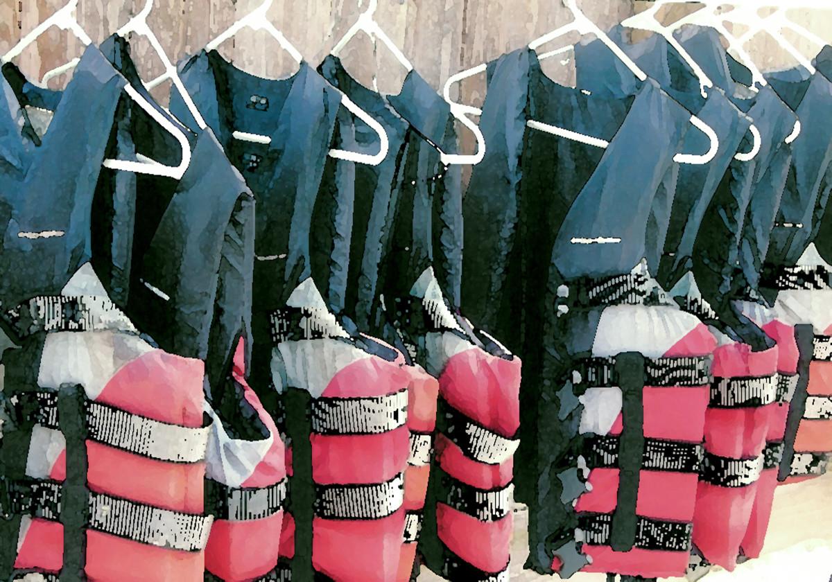 Life Jackets by Gina Godfrey