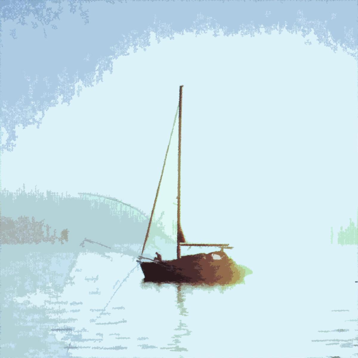 Sails Down by Gina Godfrey