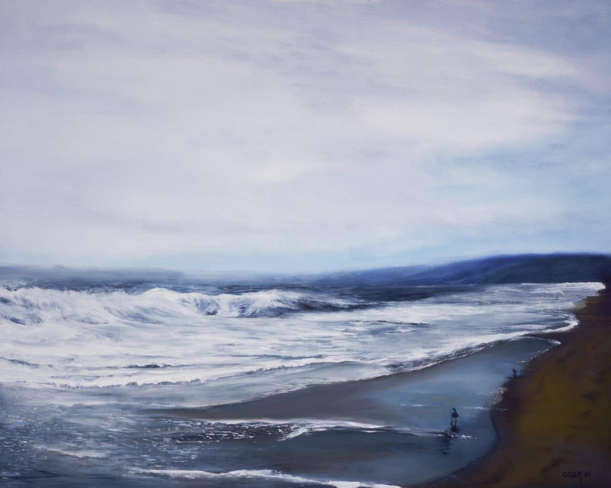 Calming Waves by Carolyn Kleinberger