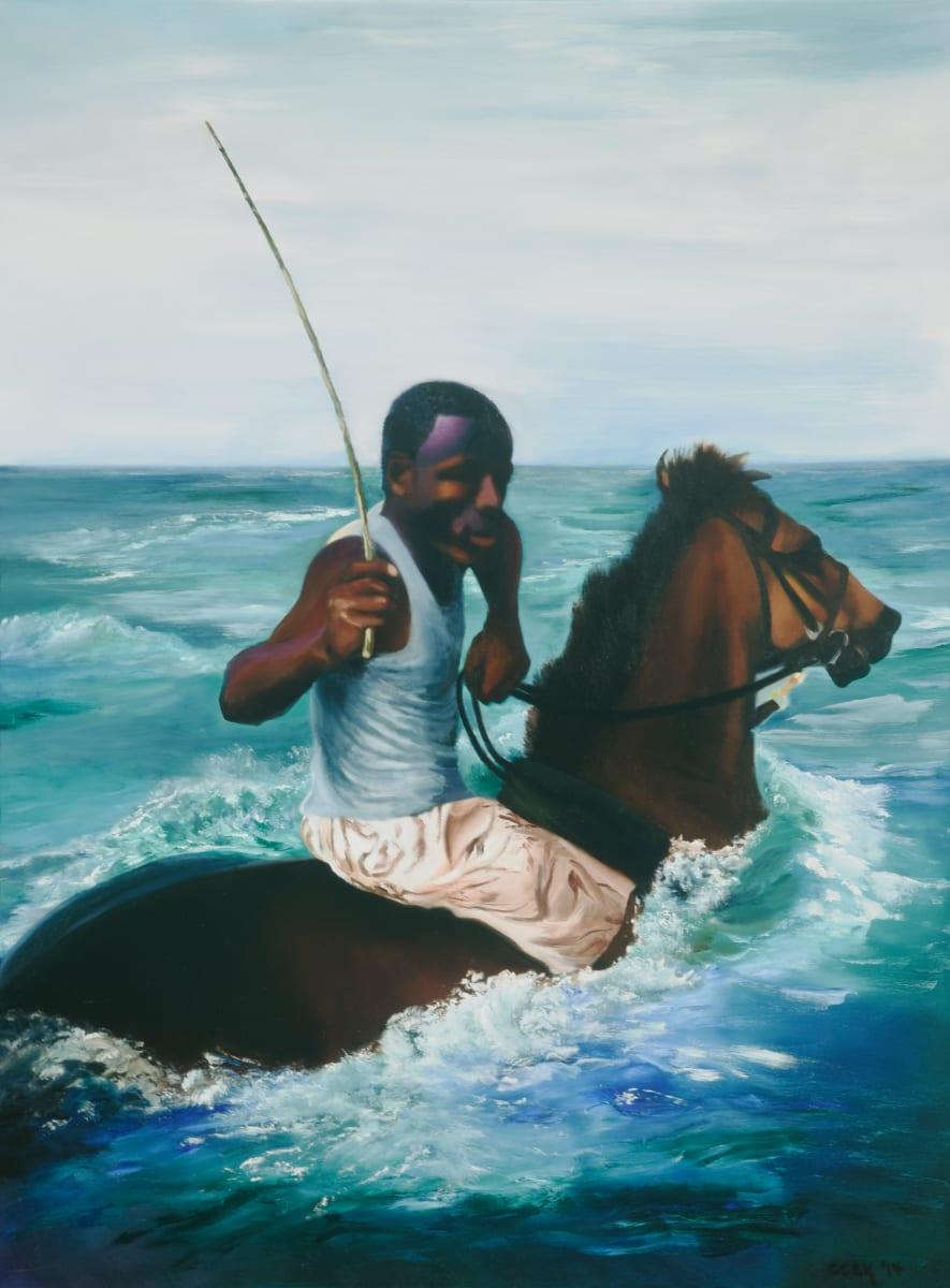 Jamaican Horseman by Carolyn Kleinberger