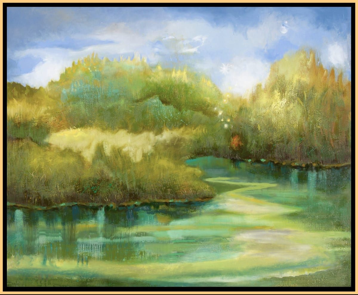Hammock Creek Sparkle by Leslie Neumann