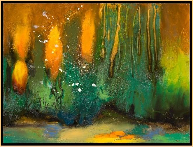 Sun Forest 5 by Leslie Neumann