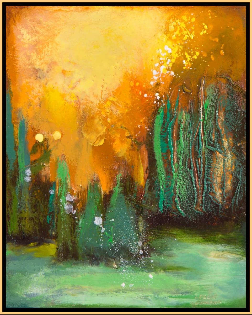 Sun Forest 6 by Leslie Neumann