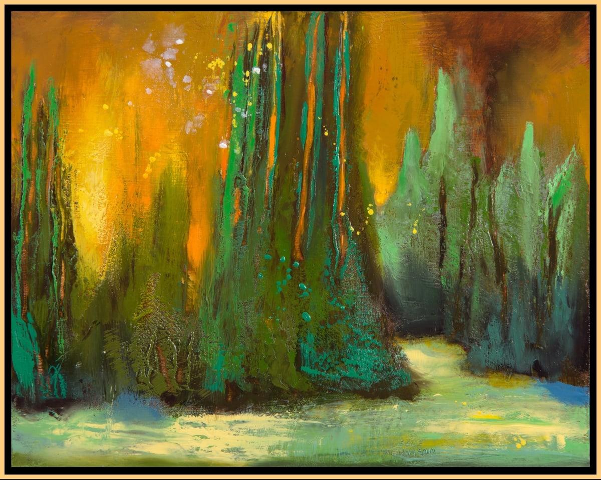 Sun Forest 7 by Leslie Neumann