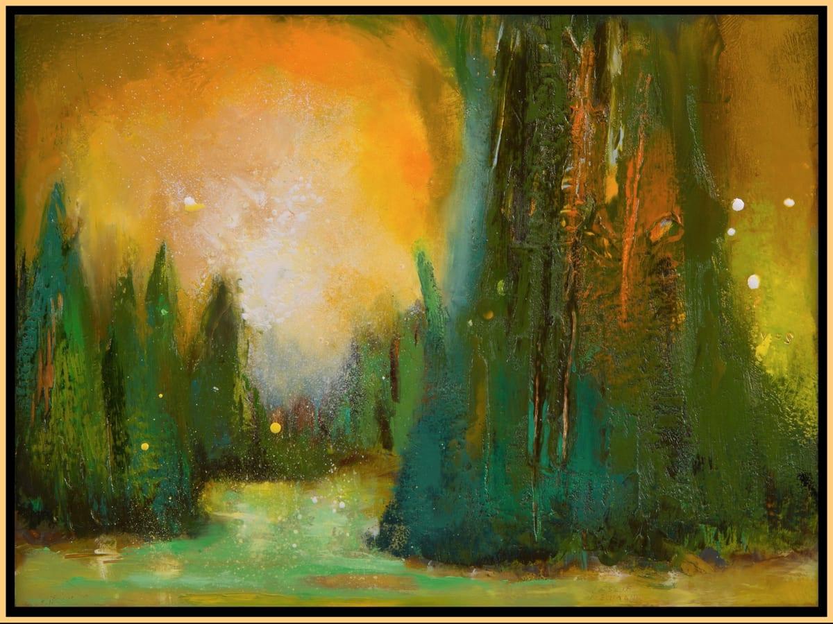 Sun Forest 8 by Leslie Neumann