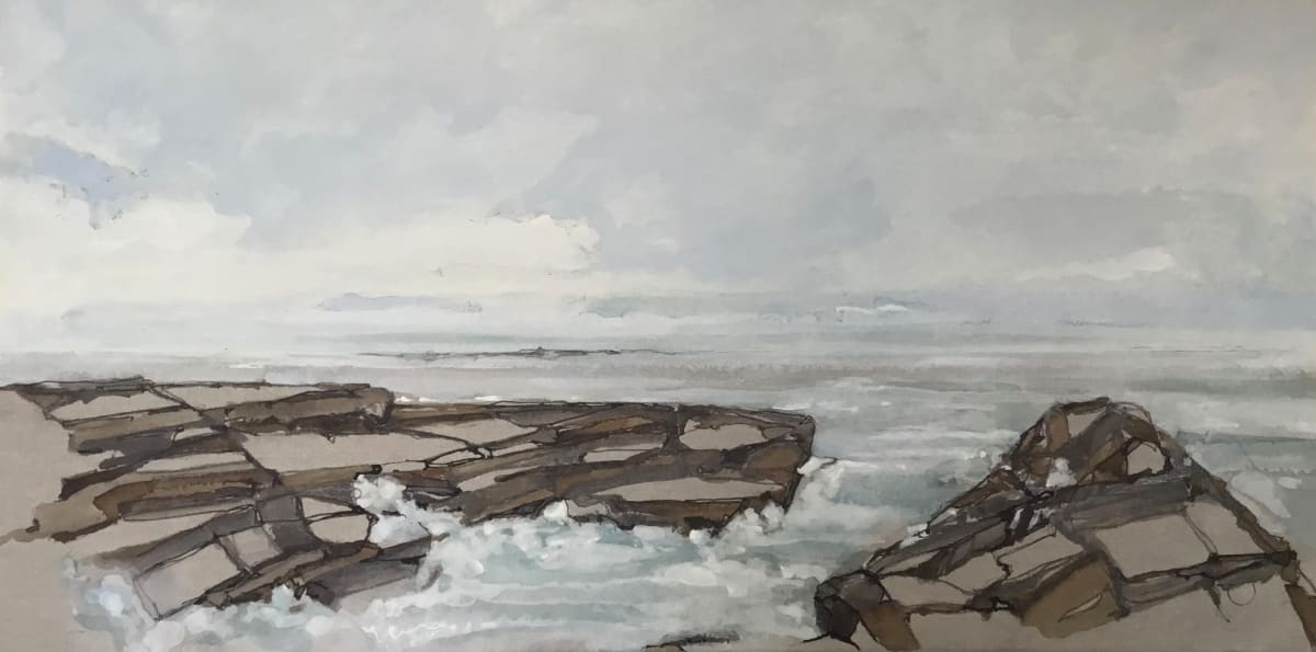 Water's Edge 8 by Barbara Houston