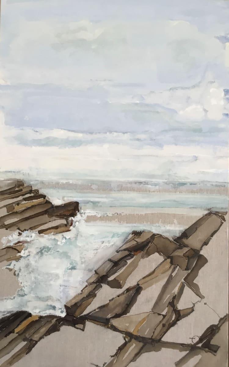 Water's Edge 7 by Barbara Houston