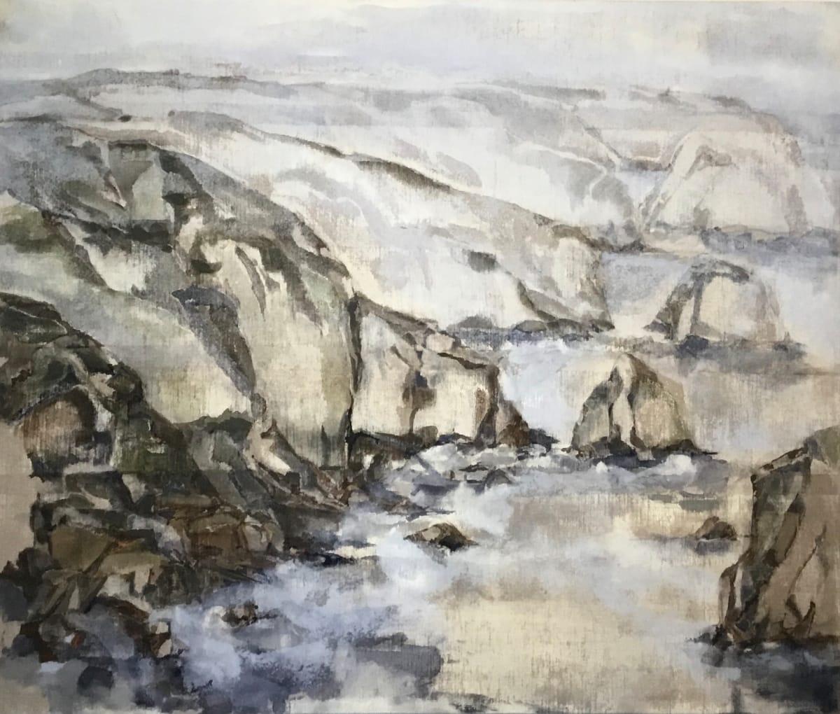 Edge, 3, Verso by Barbara Houston  Image: Artist's chop in lower right corner