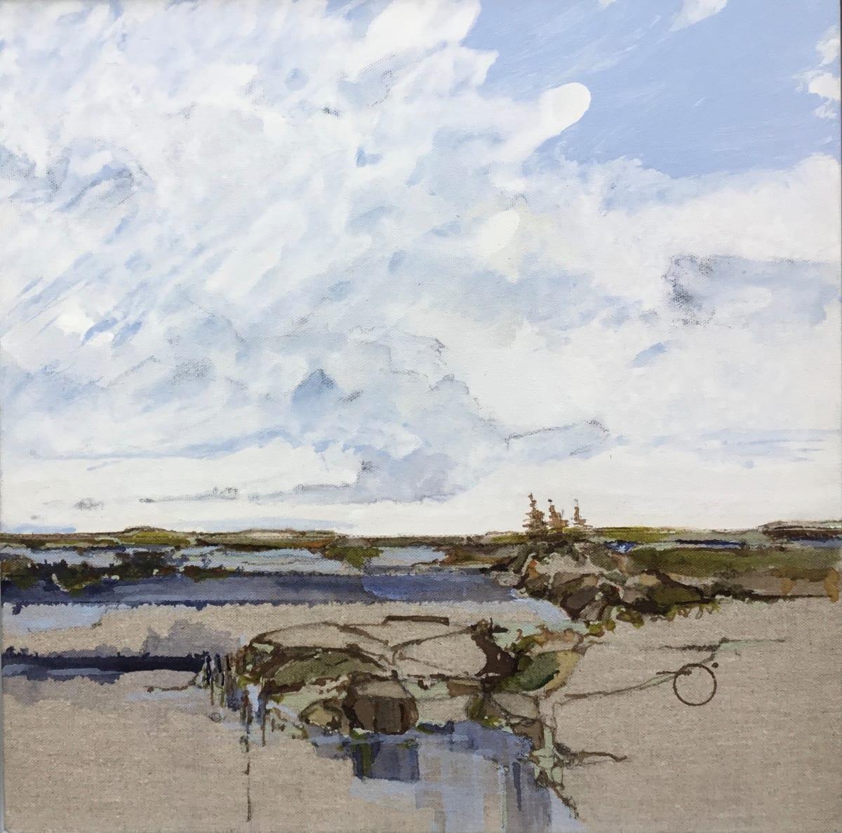 Inland Pond Series IP43-49 by Barbara Houston