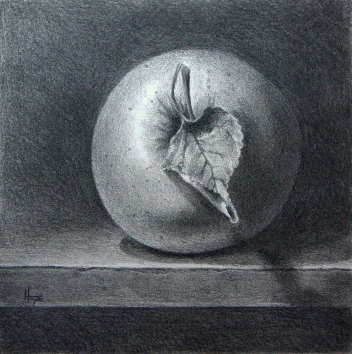 Apple Study by Hope Martin