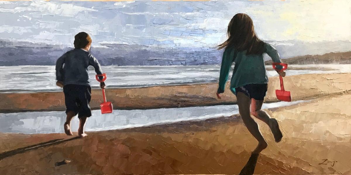Racing to the December Sea by Zanya Dahl
