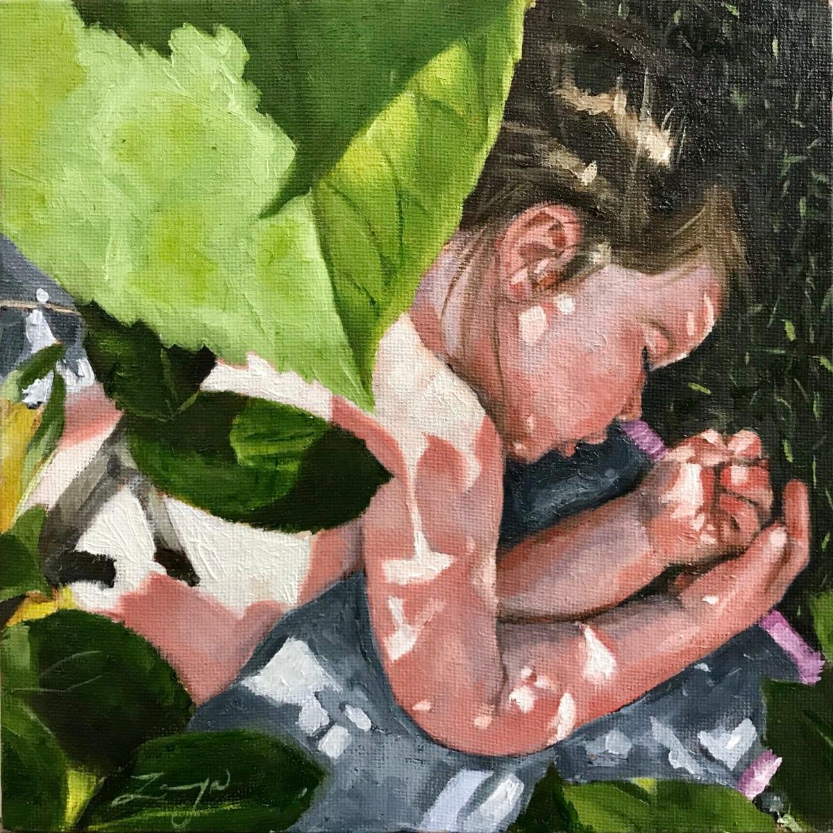 Midday Nap Under the Apple Tree by Zanya Dahl