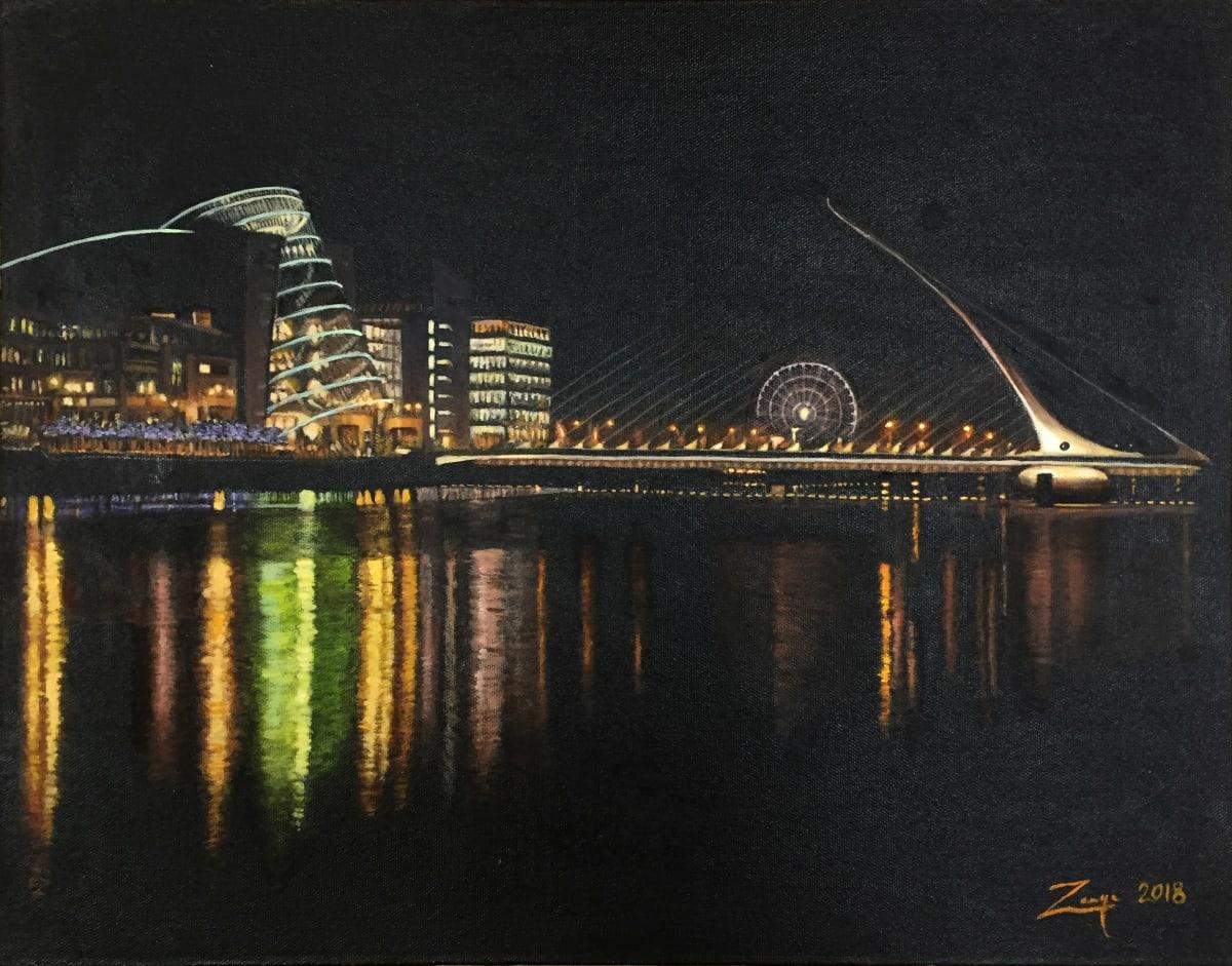 Dublin Docklands by Zanya Dahl