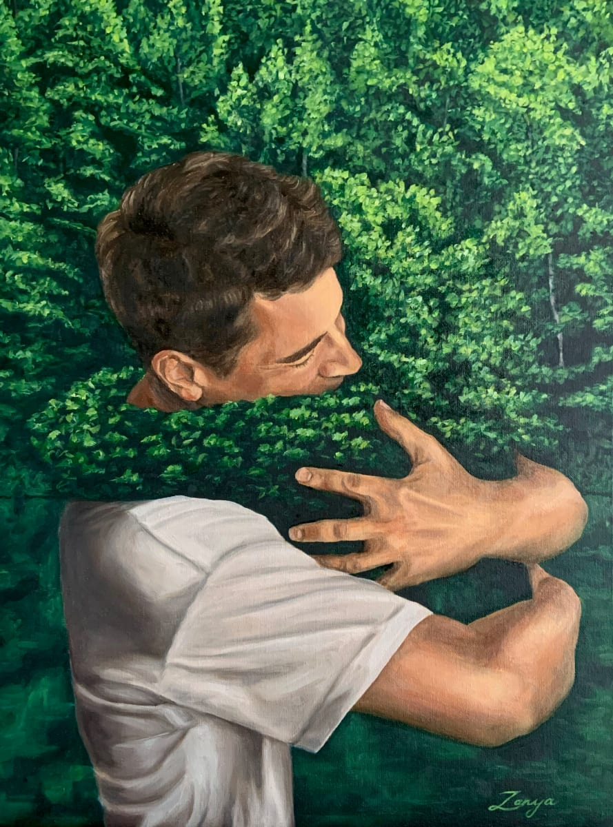 Living In Harmony I by Zanya Dahl