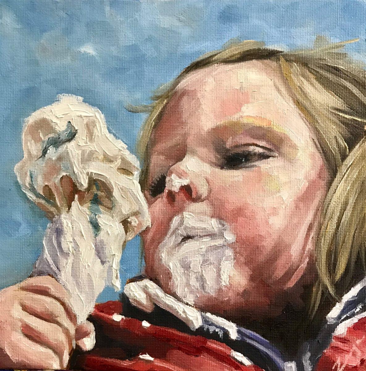 Icecream Goatee by Zanya Dahl