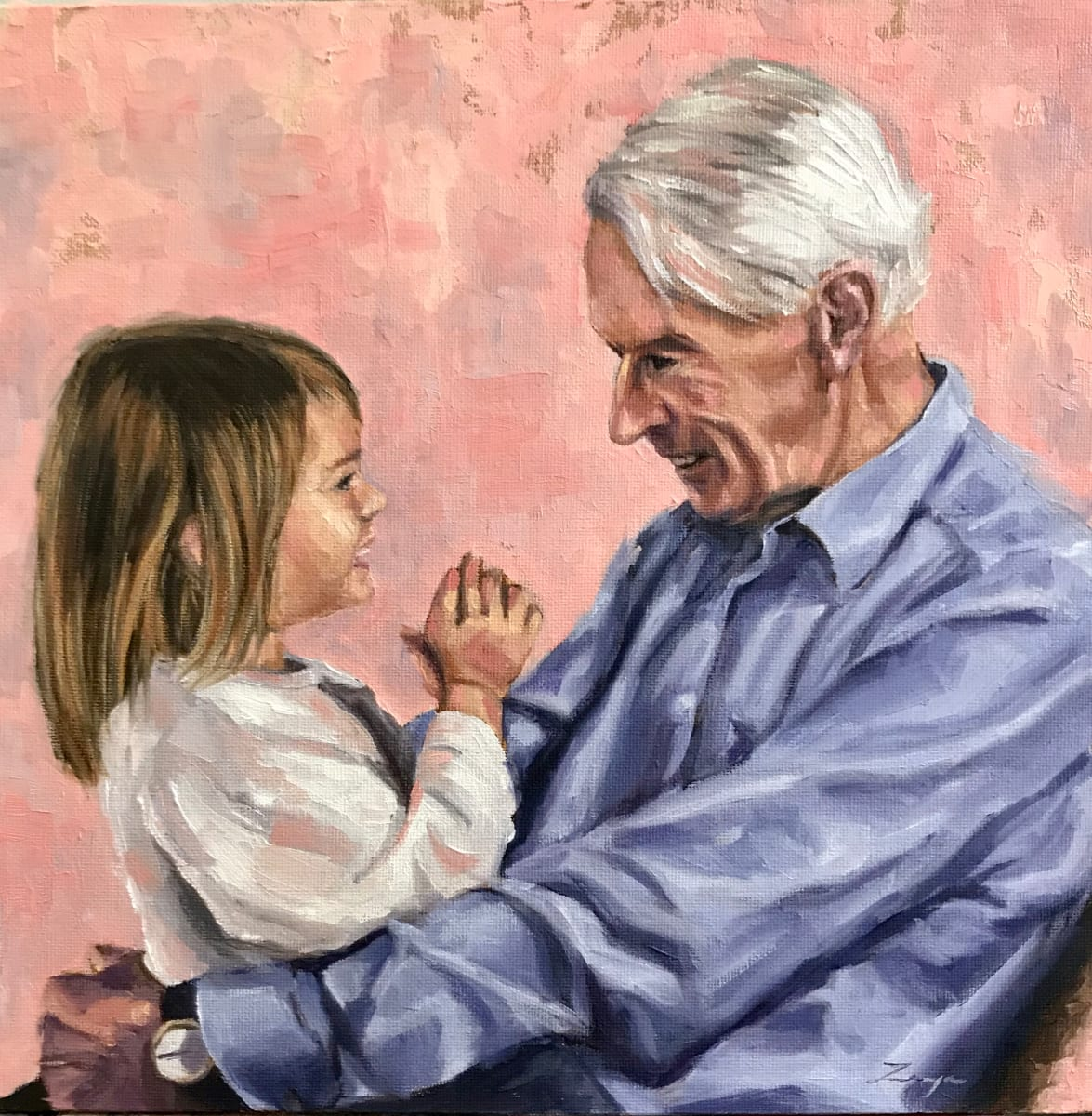 Grandad's Girl by Zanya Dahl