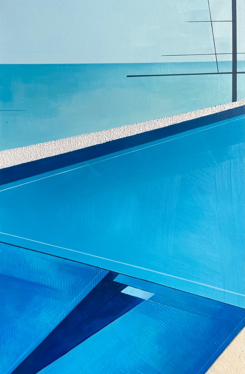Blue Infinity by Savannah Ball