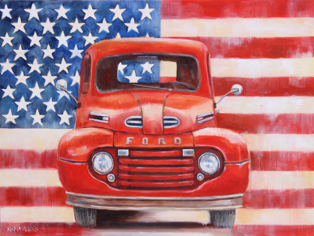 Americana Ford by Wendy Marquis
