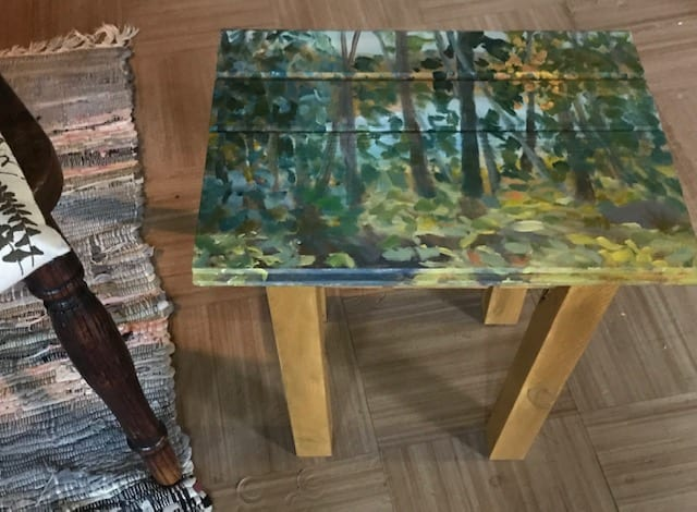 Cottage Table 2 by Sarah Robinson