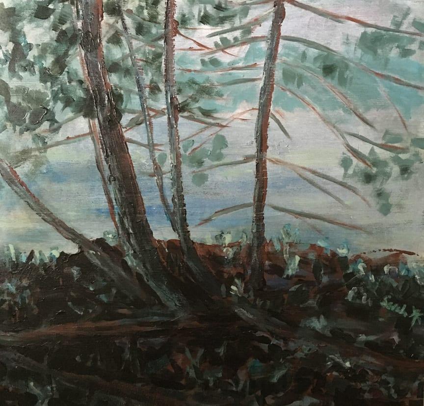 Rain on the Way - study by Sarah Robinson
