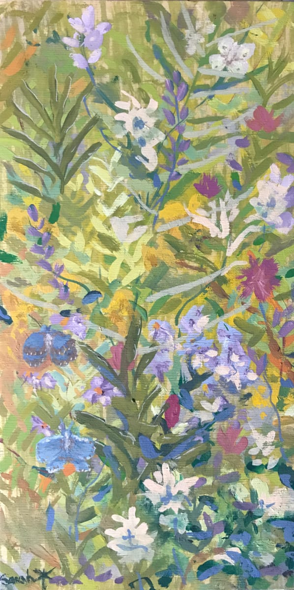 Meadow Blues - study by Sarah Robinson