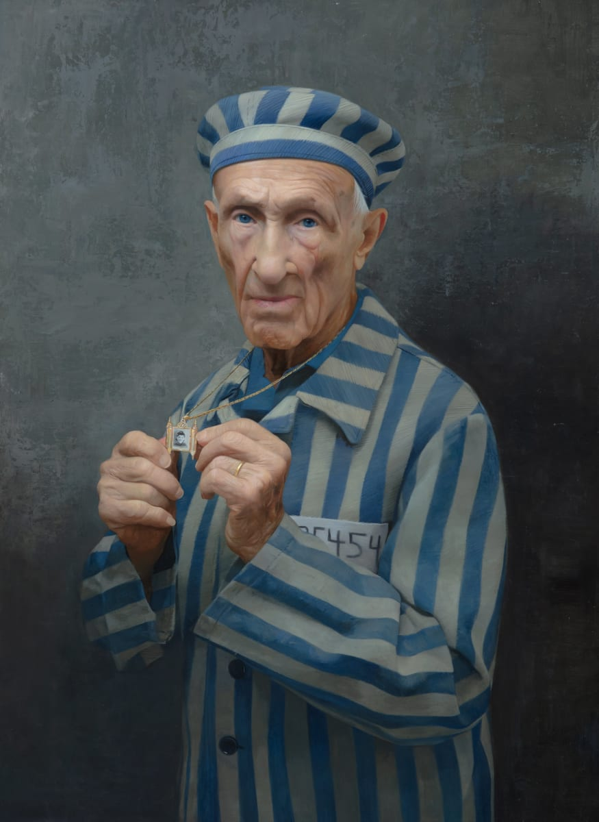 Edward Mosberg, Survivor of Mauthausen by David Kassan